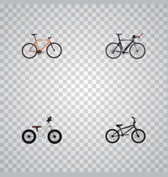 Set of transport realistic symbols with balance vector