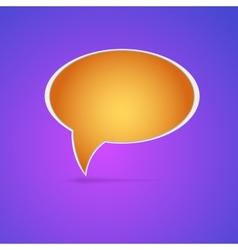 Speech bubble Eps 10 vector