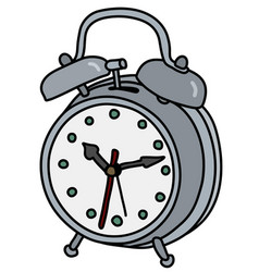 The old alarm clock vector