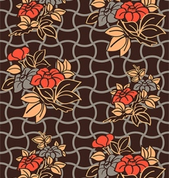 Kimono wallpaper pattern vector