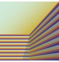 Abstract corner vector