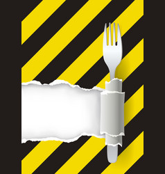 dangerous unhealthy food vector image