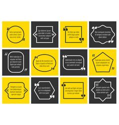 Dialogue box definition information frames vector
