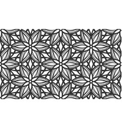 lace flower bud floral repeat seamless pattern vector image