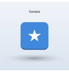 Somalia flag icon vector