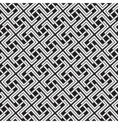 Chain mail of the links in form of crosses celtic vector