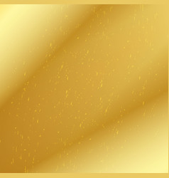 golden speckled background vector image