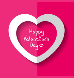 heart for valentine s day vector image