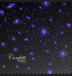 confetti glitters vector image