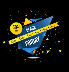 black friday sale and discounts labels set vector image