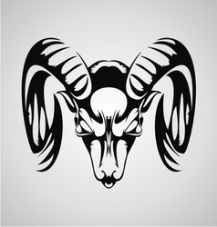 Tribal goat vector