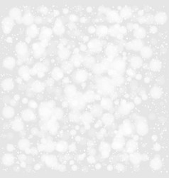white snow background vector image