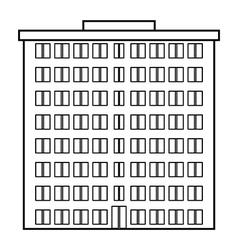 Condominium icon vector image