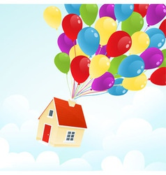 Party house vector