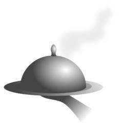 dinner stolp vector image
