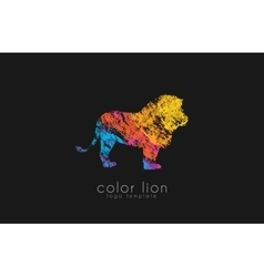lion logo design Africa logo Animal africa vector image