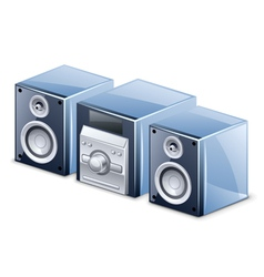 sound system vector image vector image