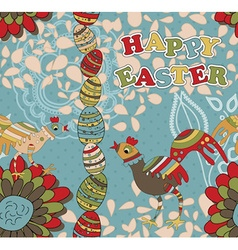 Seamless Easter Pattern can also be used as a vector image