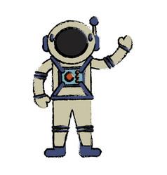 Astronaut suit spaceman image vector