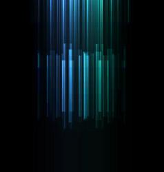 Fade speed bar overlap in dark background vector