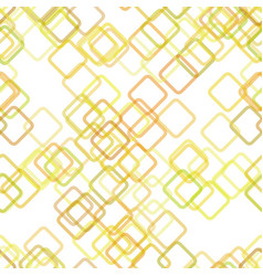 Seamless geometric square pattern background - vector