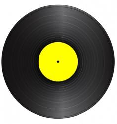 Vintage vinyl vector