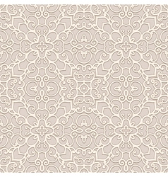 Seamless beige pattern vector image vector image
