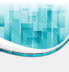 Abstract squares background for design business vector image