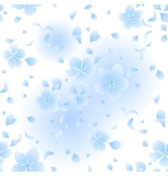 Graphic sakura pattern vector image vector image