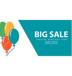 Big sale special sale all item template design vector
