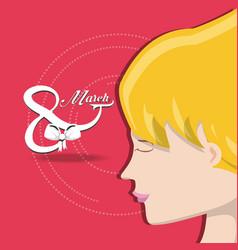 international womens day design vector image