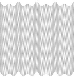 Modern design lines pattern repeat undulated vector