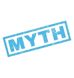 Myth Rubber Stamp vector image