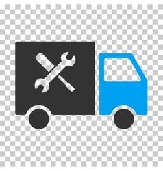 Service Van Eps Icon vector image