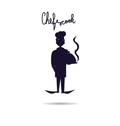 Chef Cook icon Isolated chef vector image