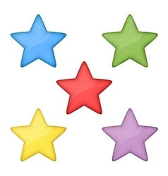 Volume stars vector image vector image