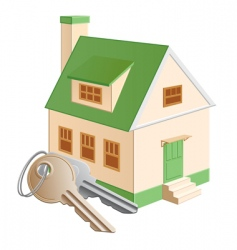 cottage green vector image vector image