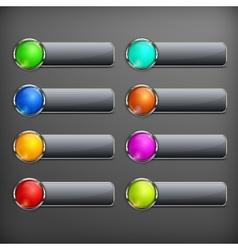 Set of design elements on vector image