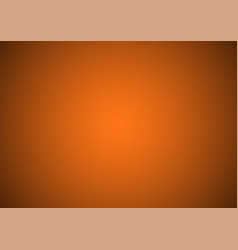 abstract orange and black gradient background vector image
