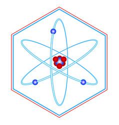atom symbol vector image