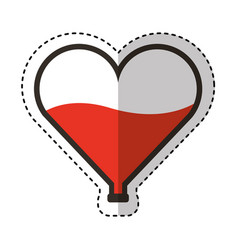 Blood donation medical icon vector