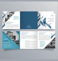 brochure design 691 vector image