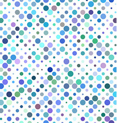 Colorful circle pattern design vector image