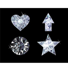 Diamond Symbols vector image