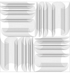 Modern design lines pattern repeat straight vector