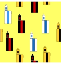 pattern of vaporizers vector image