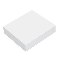 Square box mockup vector