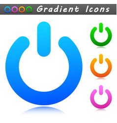 start sign symbol icon vector image