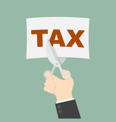Tax cut vector