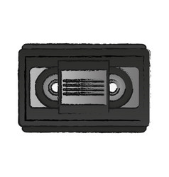 video tape icon image vector image